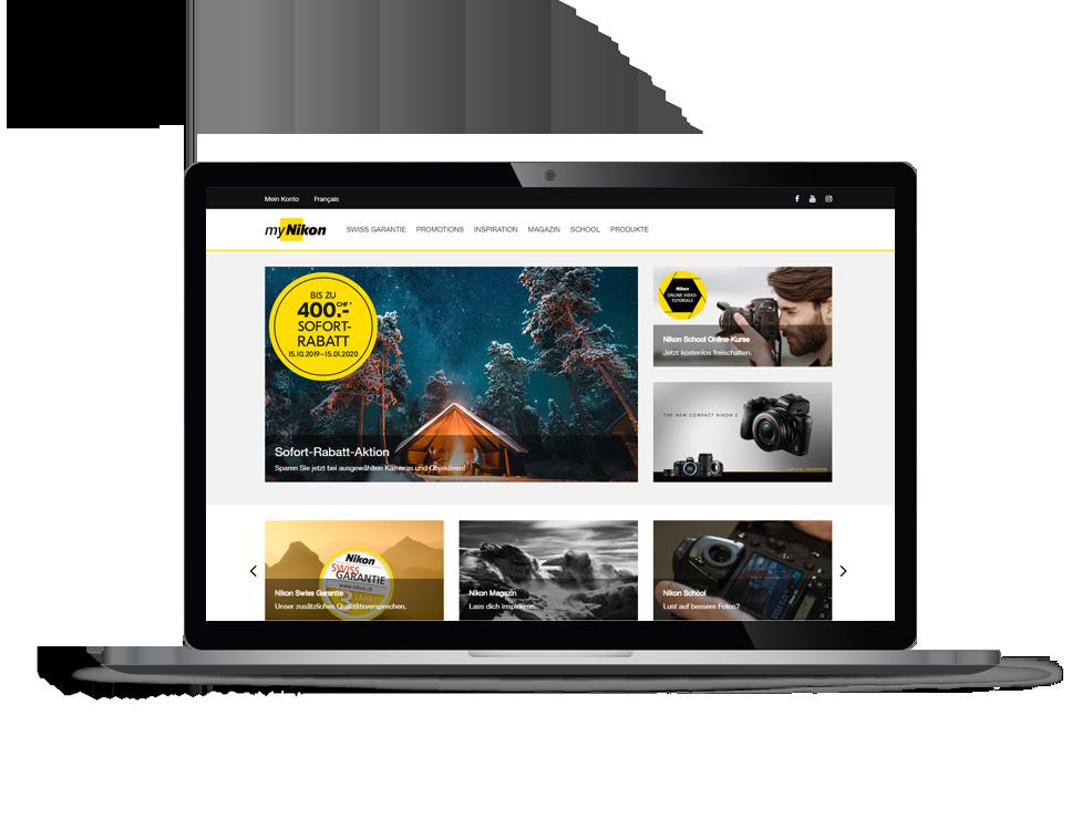 Nikon Kundenportal