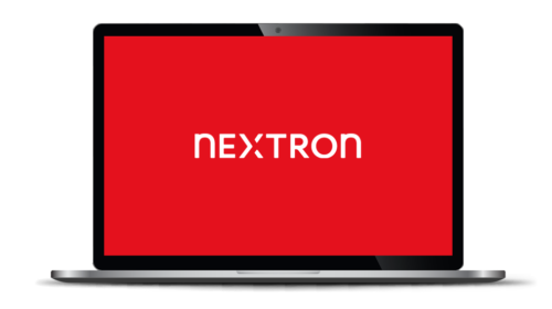 Logo, Website und «nextron inside»